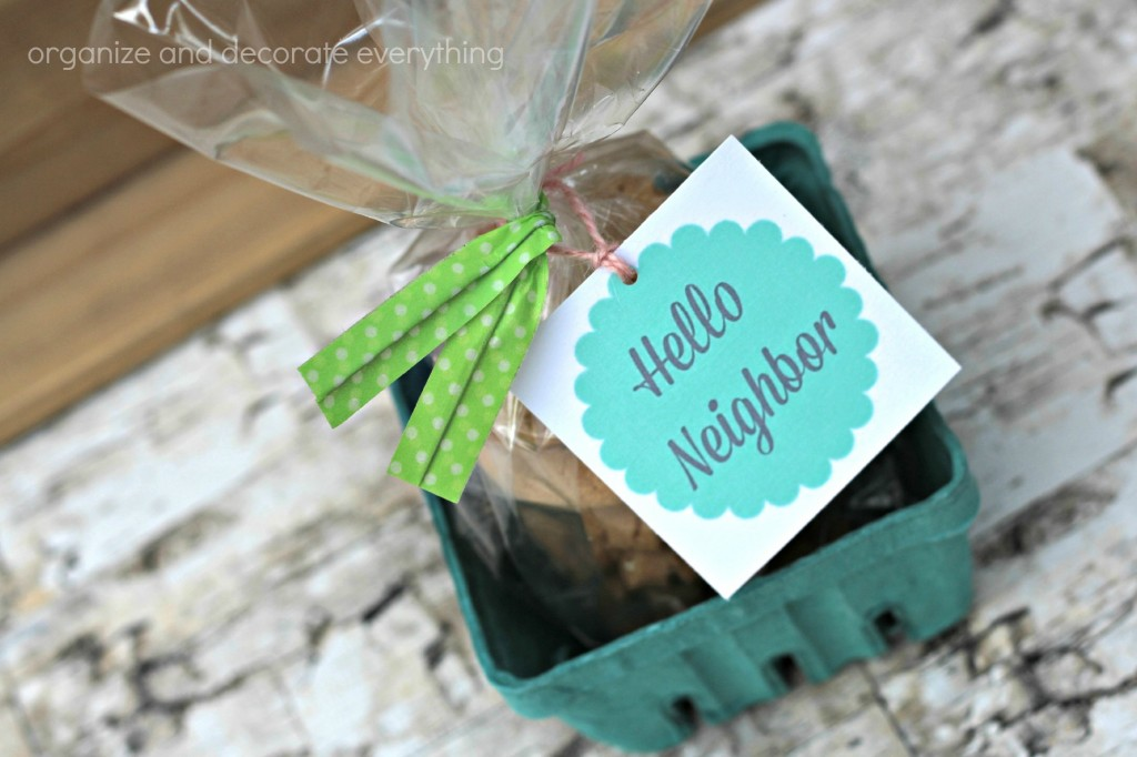 Neighbor Gift Ideas ties