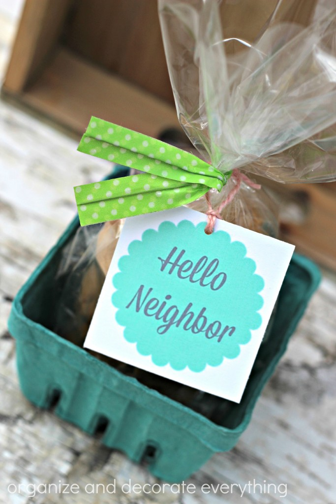 Neighbor Gift twist ties