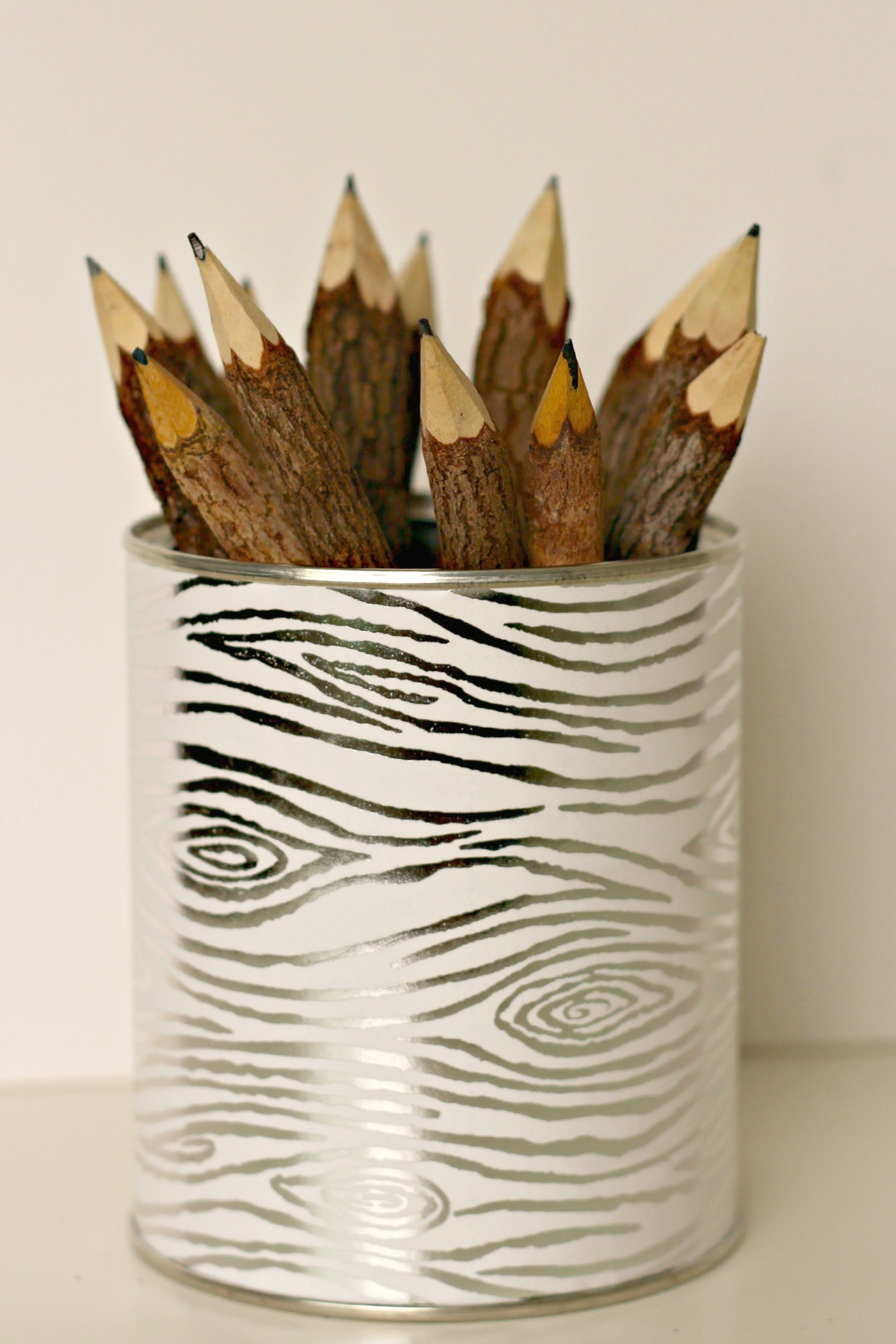 DIY Pencil Holder - Organize and Decorate Everything