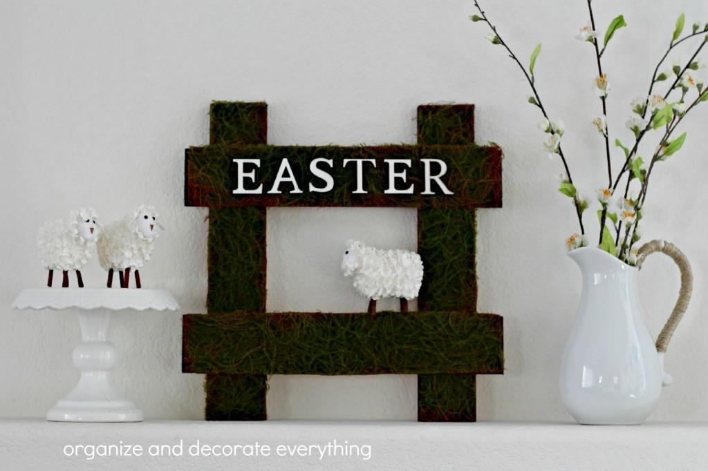 Sheep Easter Sign vignette.1