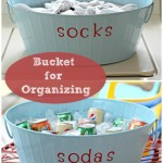 Bucket for Organizing and Fun