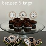 Father's Day Printables – banner and tags