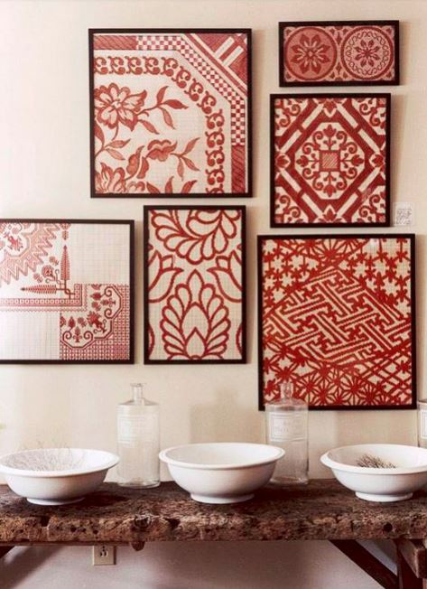 How to Decorate with Florals - prints