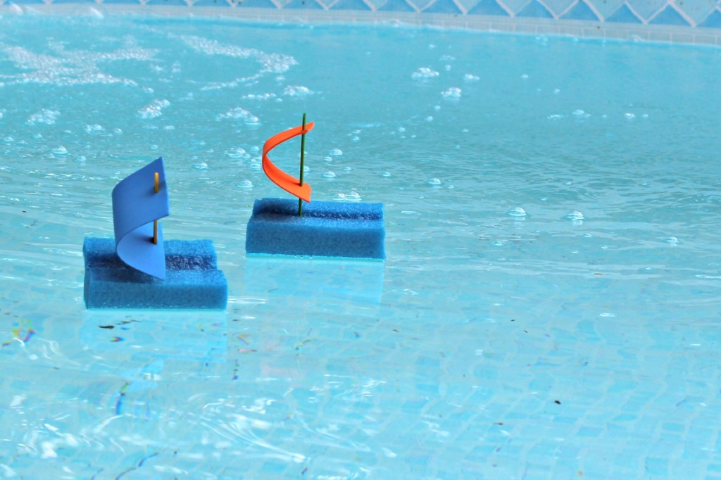 Pool Noodle Boats racing.1