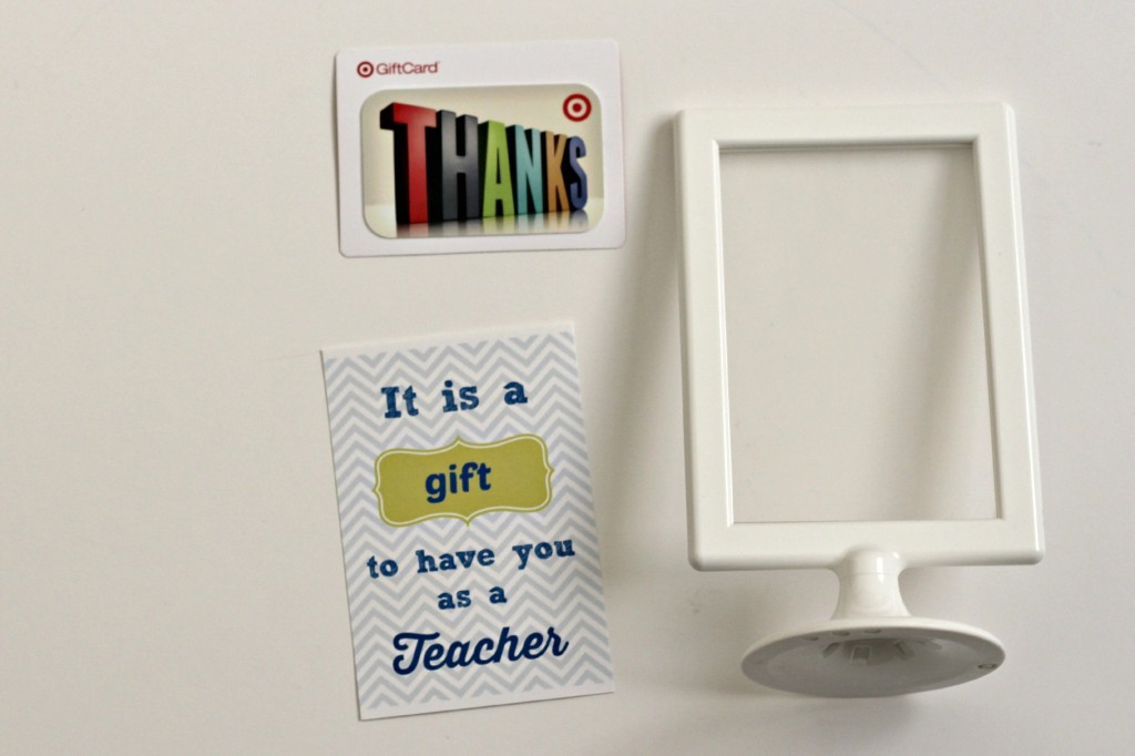 Teacher appreciation printable and gift card idea organize and teacher appreciation gift card supplies negle Image collections