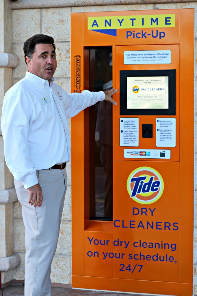 Tide Dry Cleaners pick-up