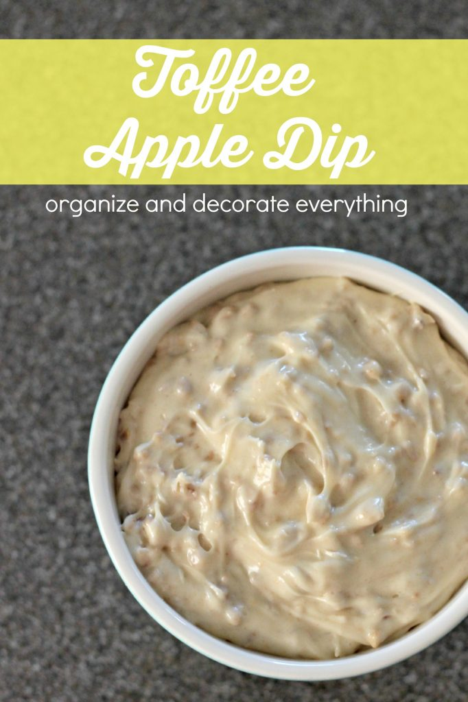 Delicious Toffee Apple Dip