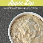 Toffee Apple Dip