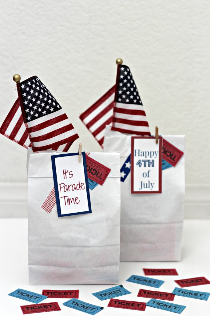 4th of July Parade Bags
