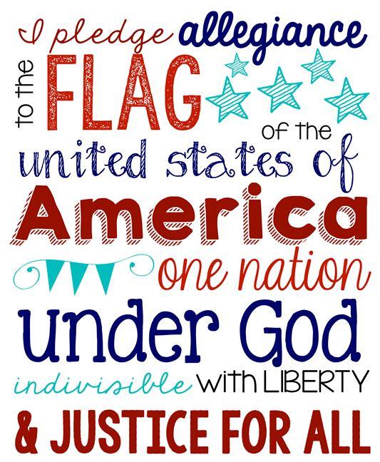 4th of July Pledge