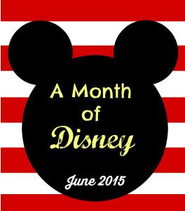 A month of Disney