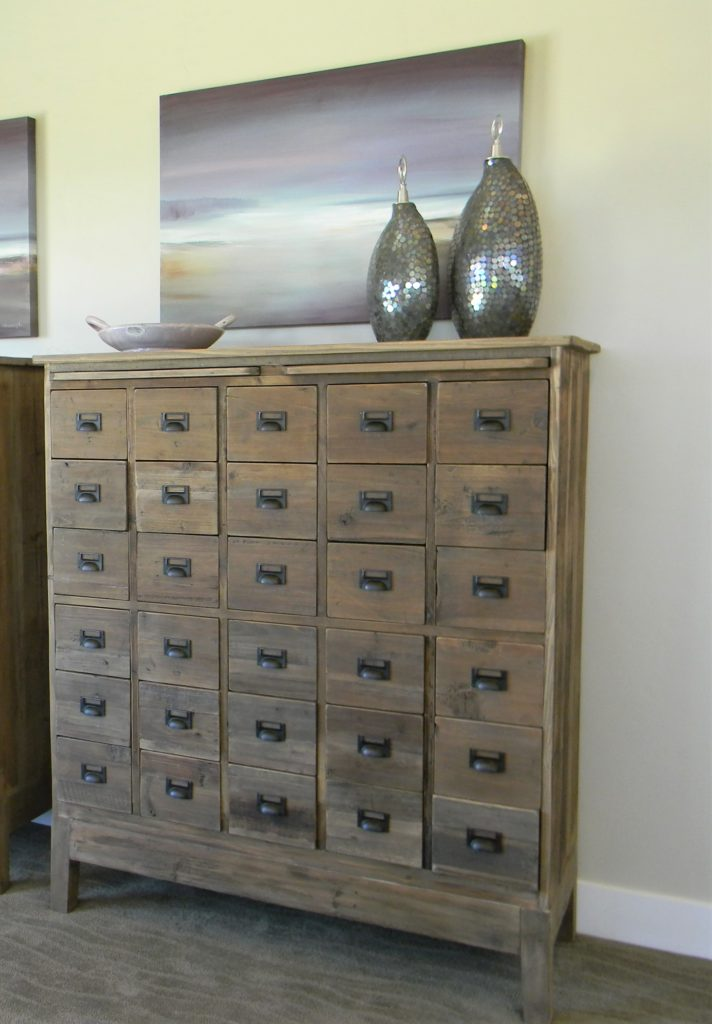 cabinet letting go of clutter