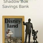 Disney Shadow Box Savings Bank
