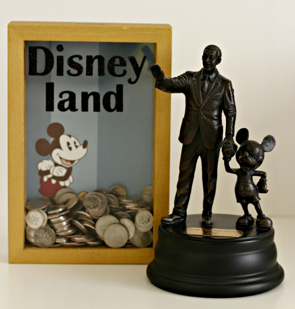 Disney Shadow Box Savings Bank square