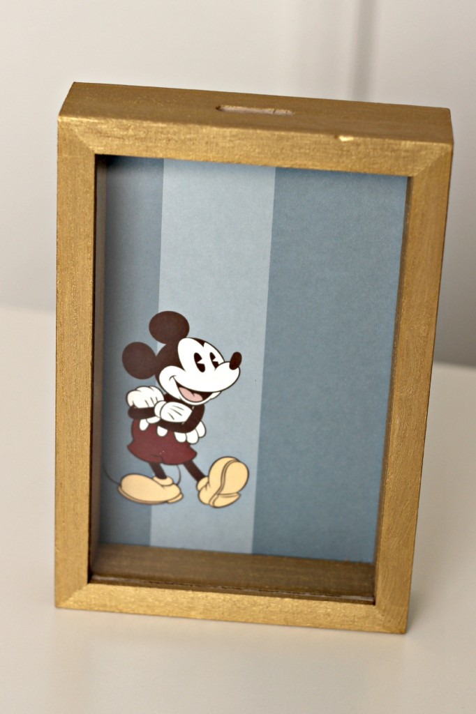 Disney Shadow Box Savings Bank step 5.1