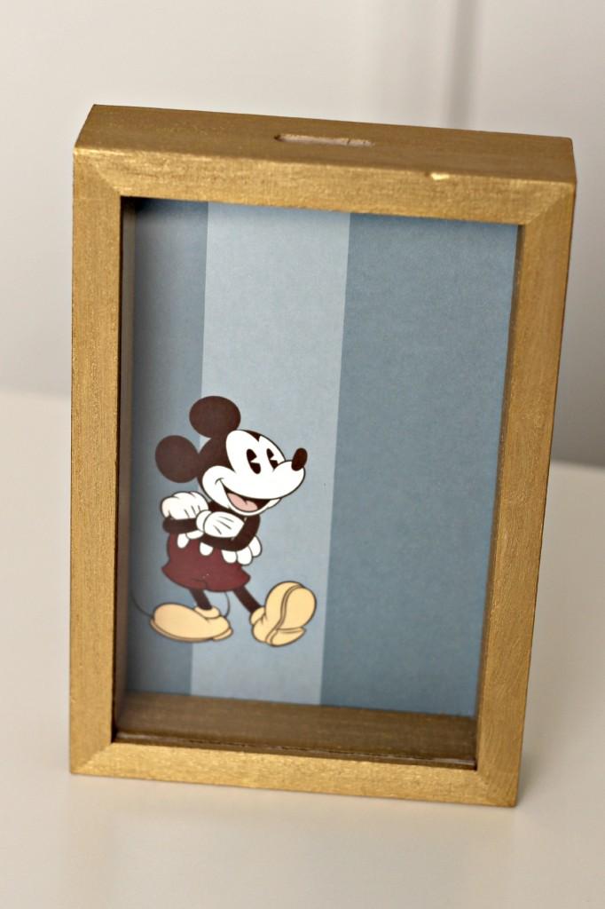 Disney Shadow Box Savings Bank step 5.1