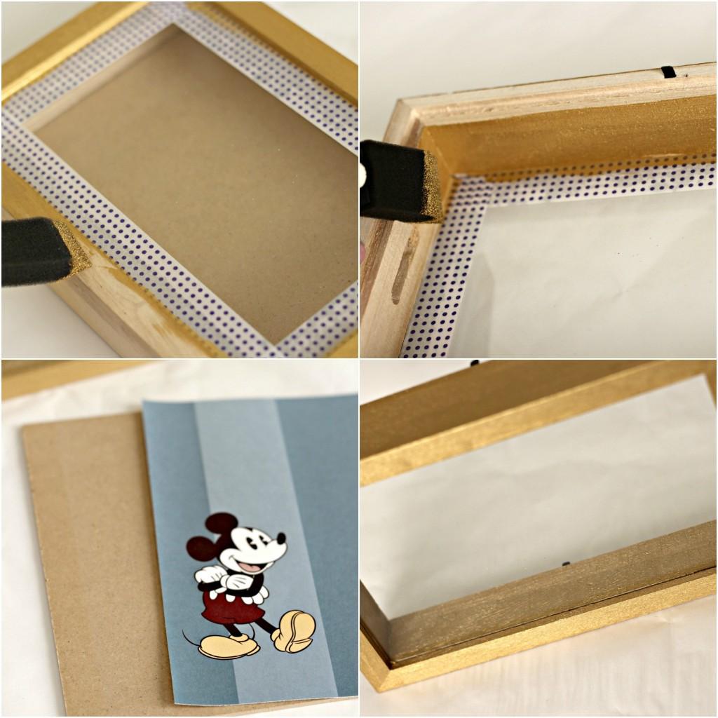 Disney Shadow Box collage