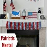 Patriotic Mantel