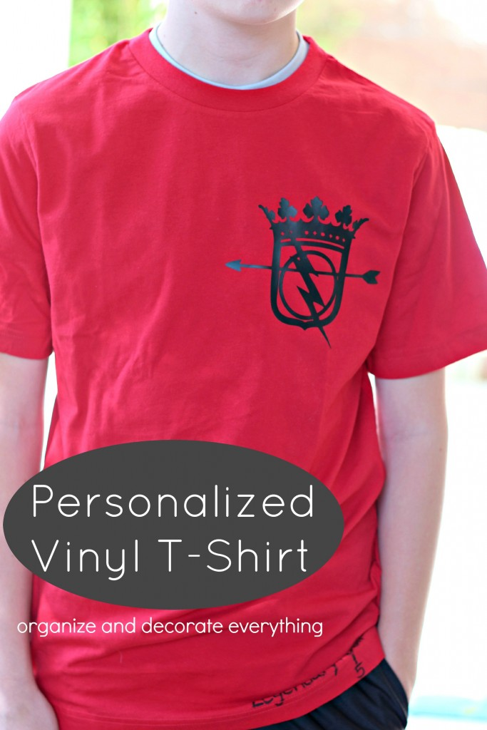 Personalized Vinyl T-Shirt
