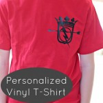 Personalized Vinyl T-Shirts
