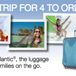 Win a Trip for Four to Orlando from Atlantic Luggage
