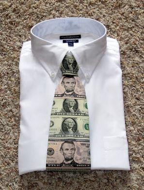 cash tie