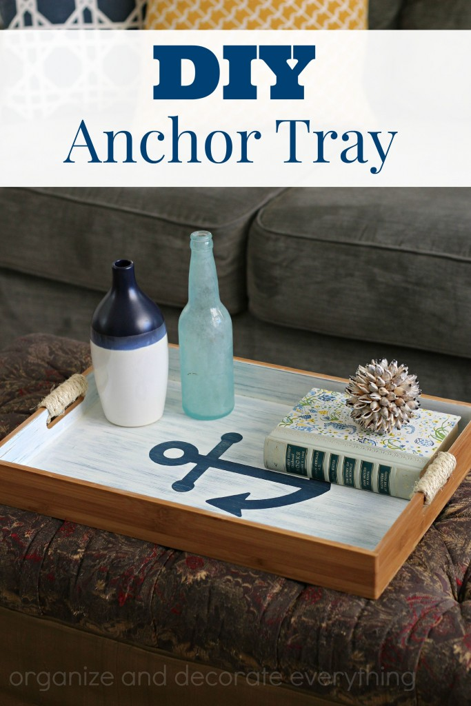 Anchor Tray DIY