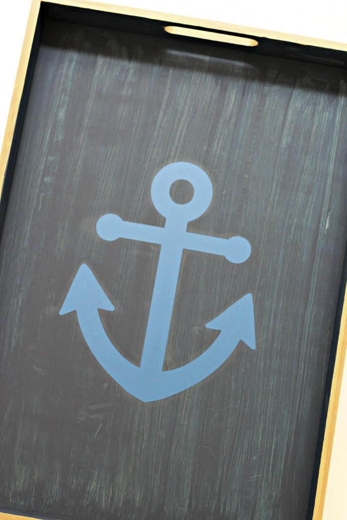 Anchor Tray stencil