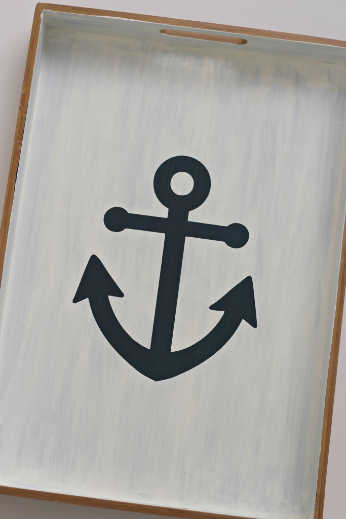 Anchor Tray white paint