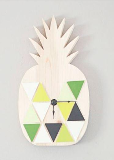 Fruit Decor Clock