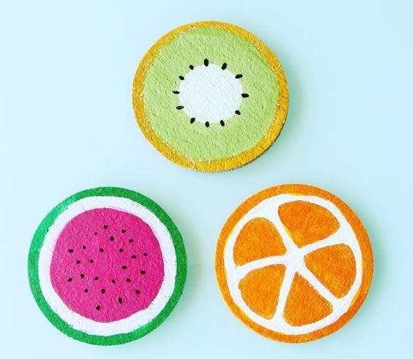 Fruit Decor Coasters