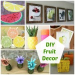 DIY Fruit Decor