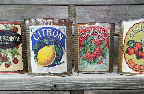 Fruit Decor Labels