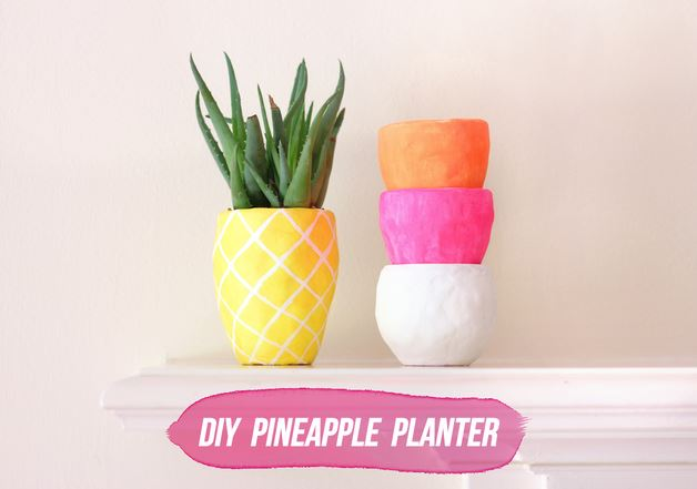 Fruit Decor Pineapple Planter