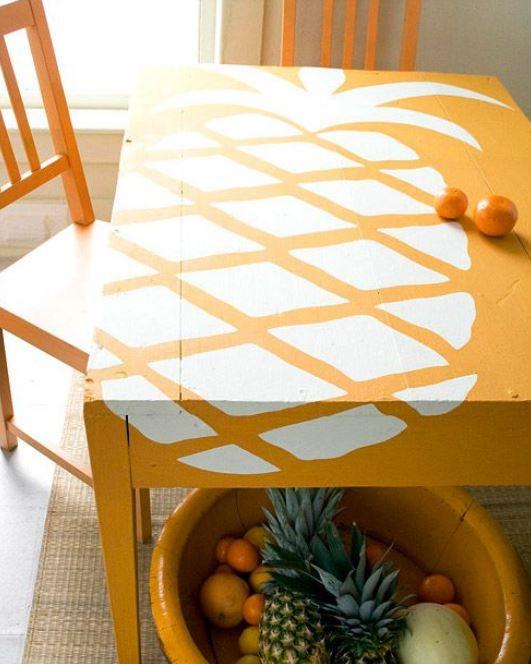 Fruit Decor Table