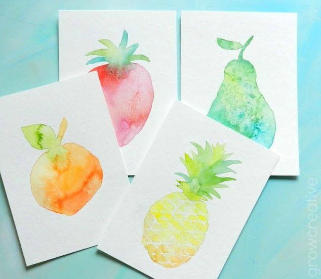 Fruit Decor Water colors