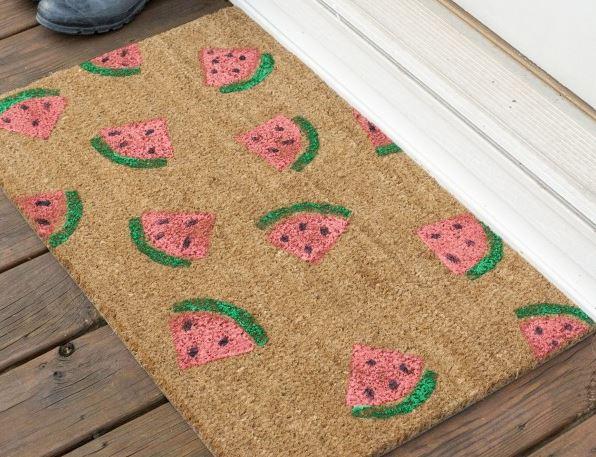 Fruit Decor Watermelon Mat