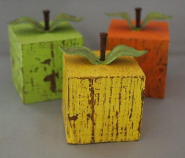 Fruit Decor Wood