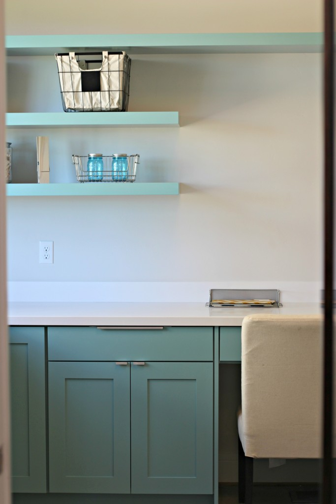 Laundry room clutter free