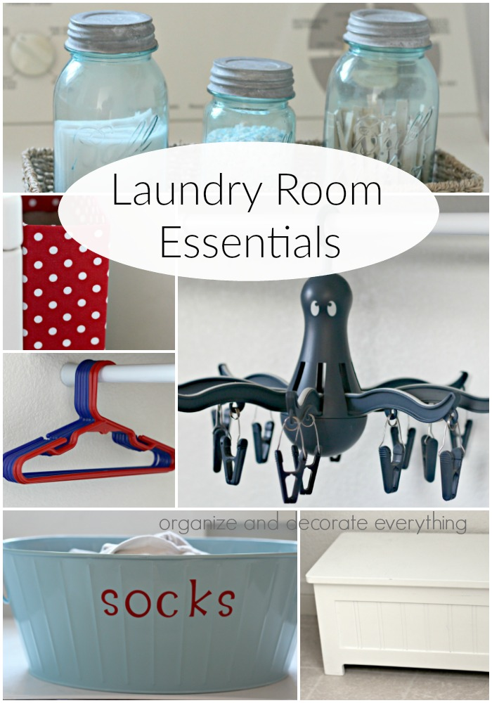 Laundry Room Essentials to make laundry day easier