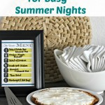 Menu Planning For Busy Summer Nights
