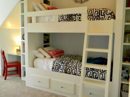 Good bunkbed storage