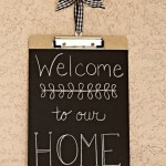 Chalkboard Clipboard Signs