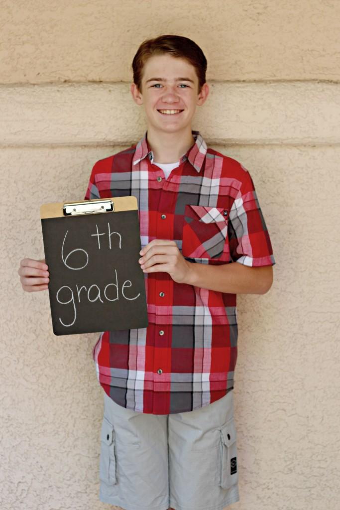Chalkboard Clipboards Ammon 6th grade