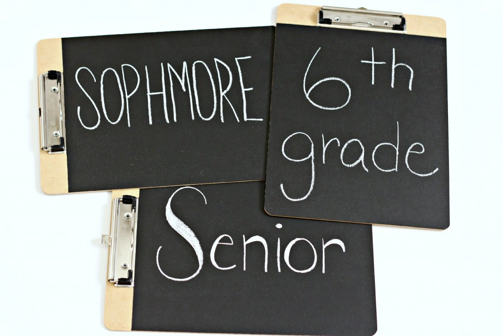 Chalkboard Clipboards for back to school.1
