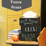 Chalkboard Tissue Boxes