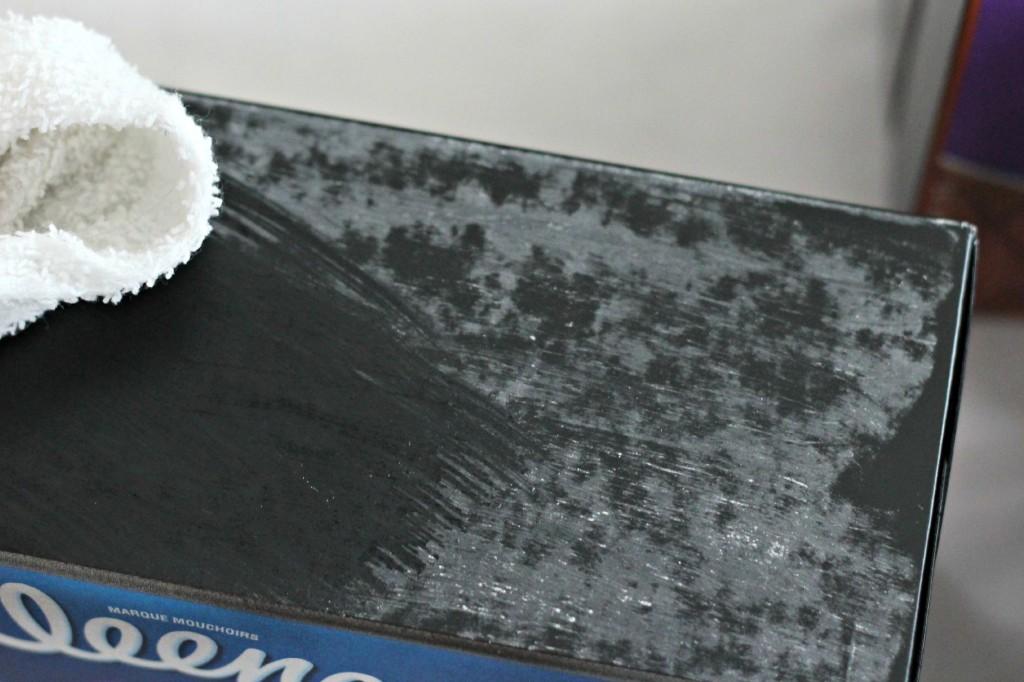 Chalkboard Tissue Boxes wipe off