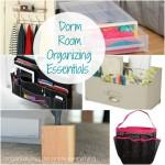 Dorm Room Organizing Essentials