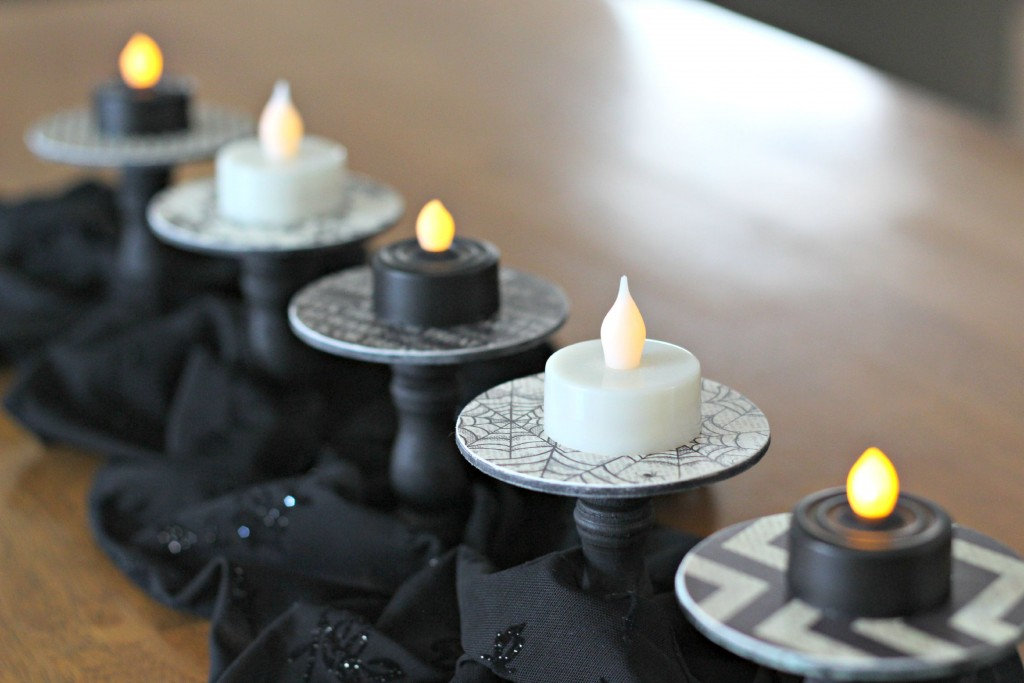 Halloween Tea Light Holders.5