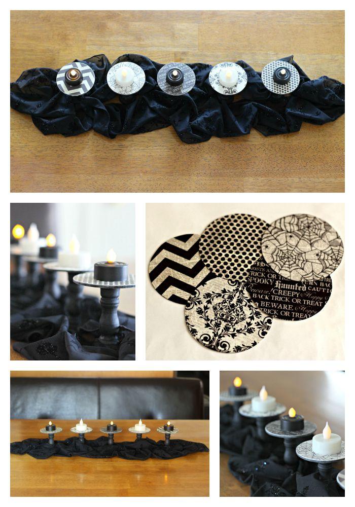 Halloween Tea Light collage.1